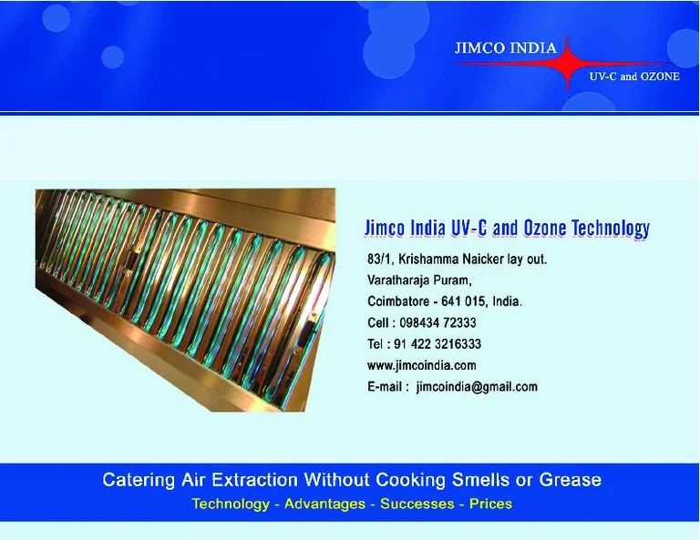 uv kitchen exhaust hood system jimco