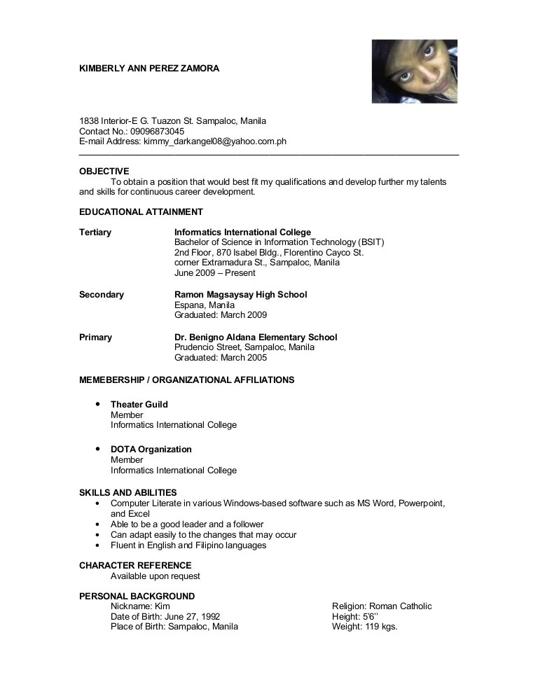 Resume References Page List References On Resume Resume Reference       resume references page