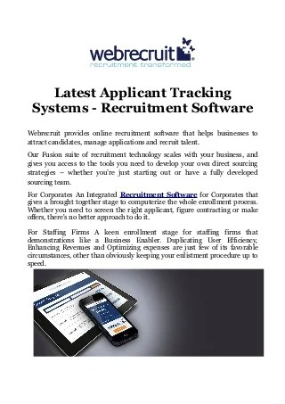 applicant tracking systems linkedin