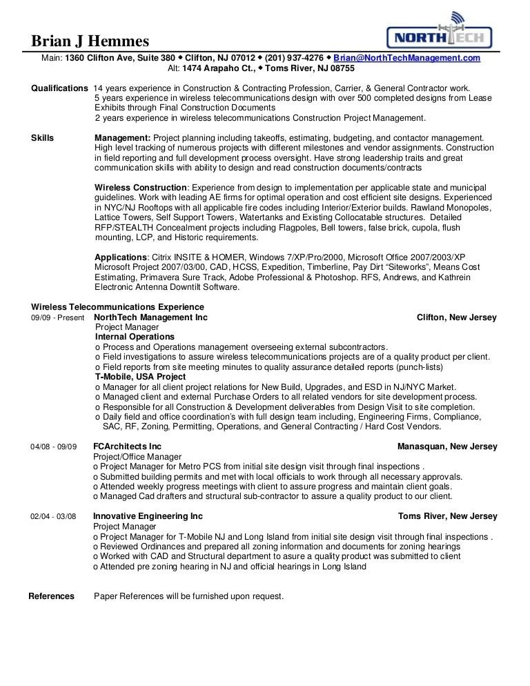 construction manager resume iv construction resume sample resume
