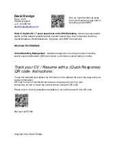 Resume Qr Code