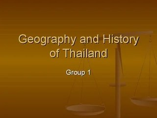 Music of Thailand - Group 1