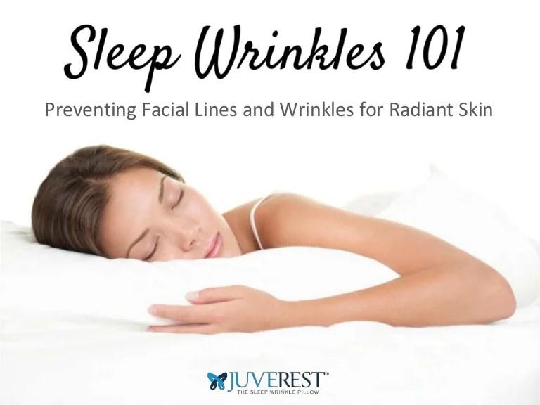 sleep wrinkles 101