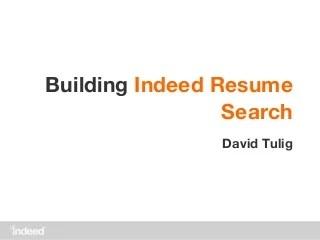 resume search linkedin