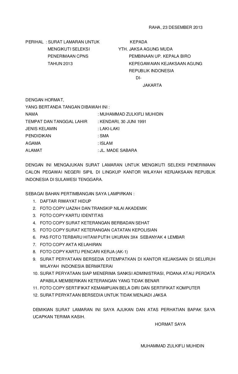 Contoh Surat Lamaran Kantor Satpol Pp Download Kumpulan Gambar