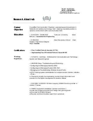 telecom engineer linkedin