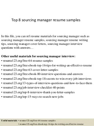 sourcing resumes sourcing resumes sample resume sourcing resume