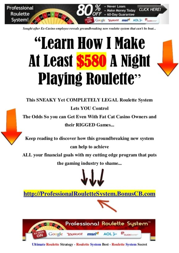 Ultimate Roulette Strategy - Roulette System Best ...