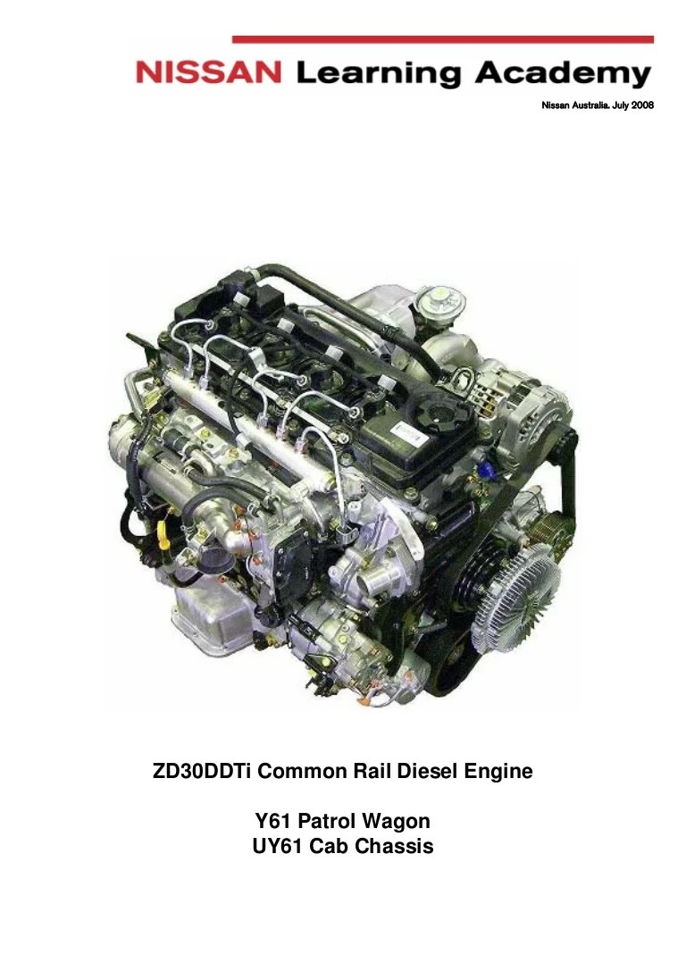Manual engine ZD30 nissan