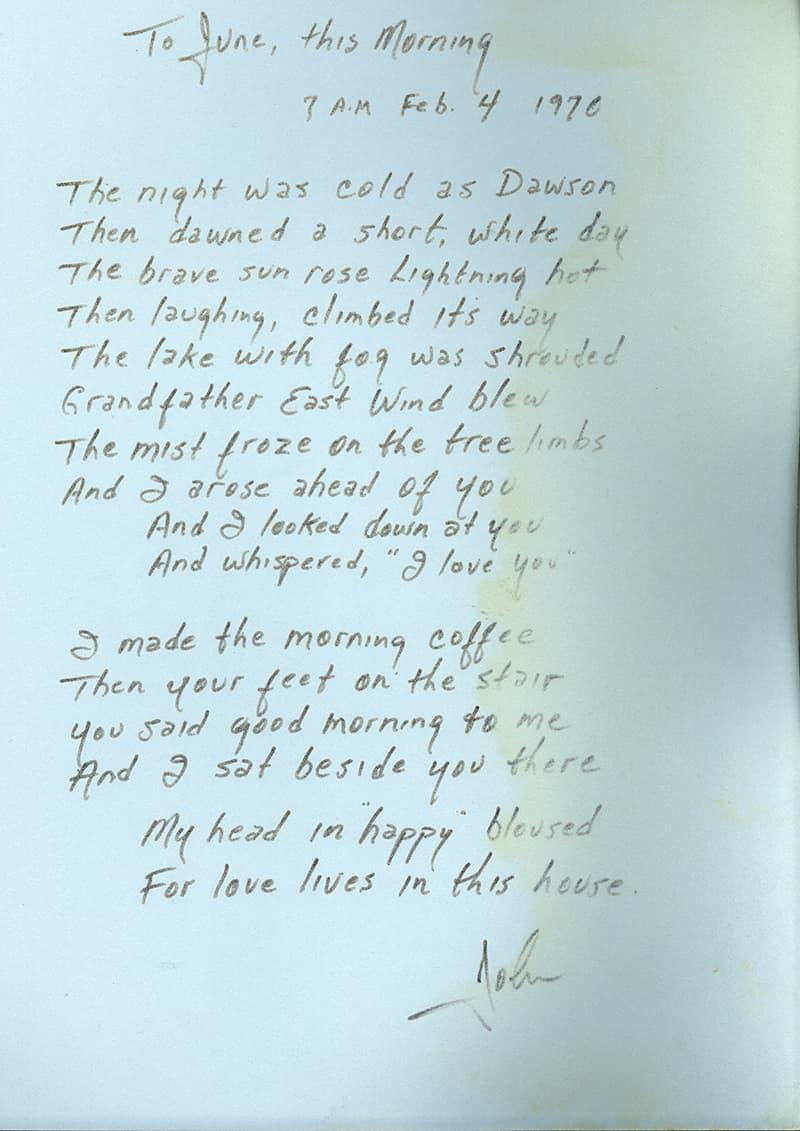 Love Came Down Lyrics