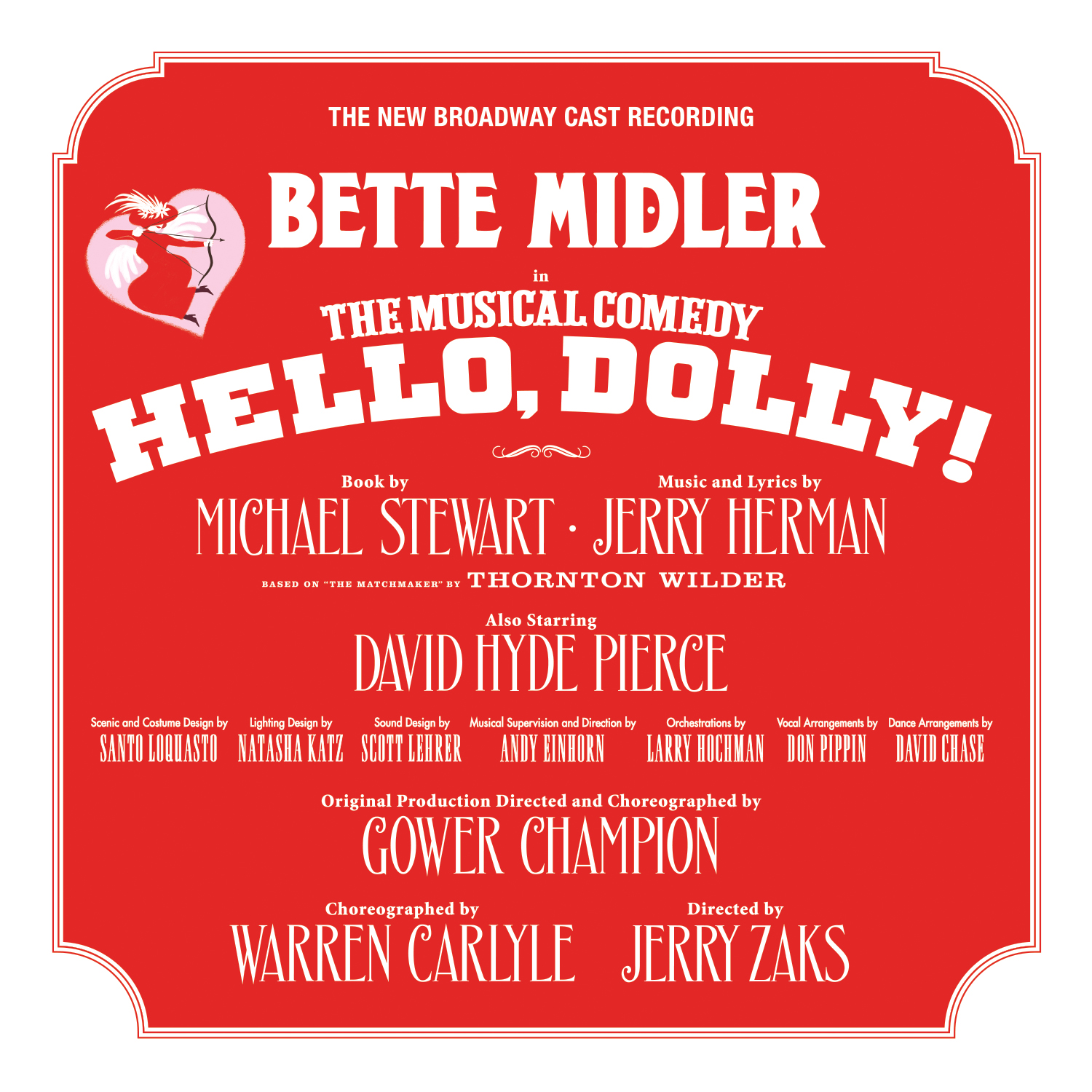 Image result for hello dolly new broadway cast recording