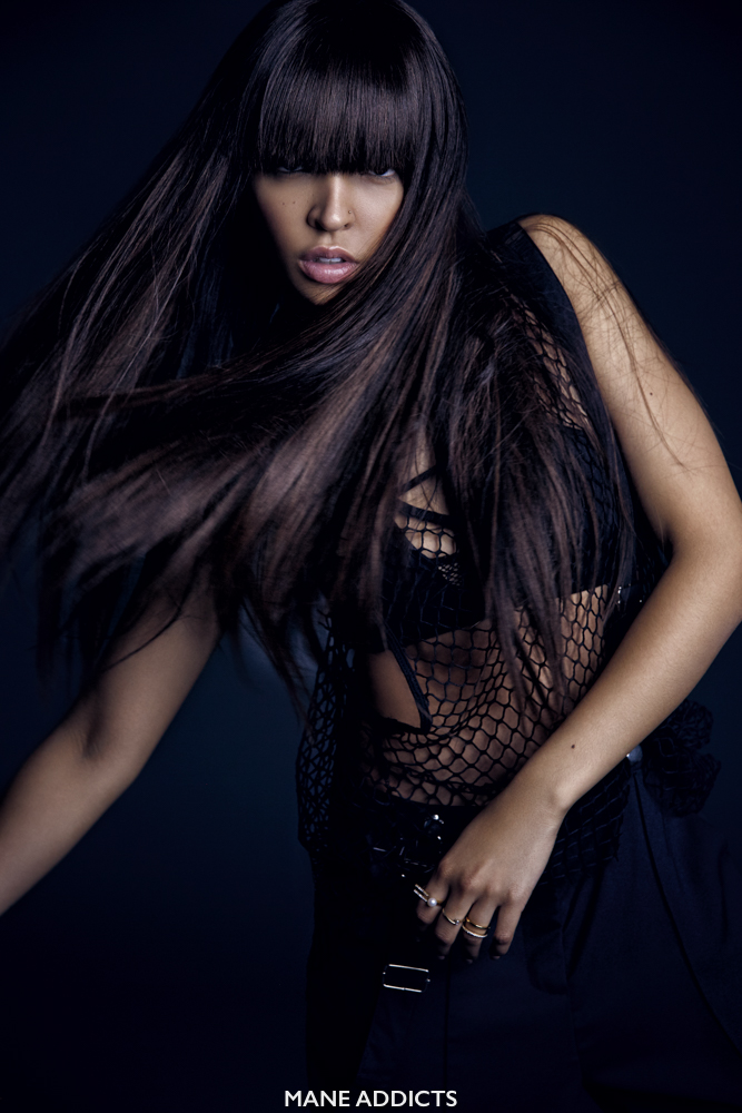 Tinashe Experiments Various Hairstyles For Mane Addicts