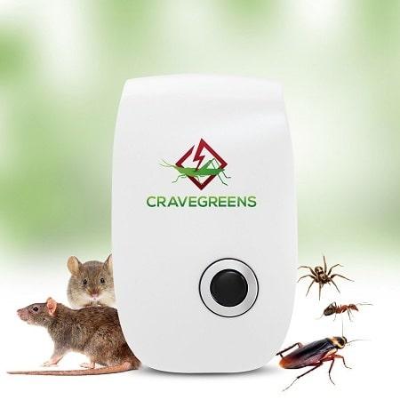 Cravegreens Pest Control Ultrasonic Repellent Rats and Insects