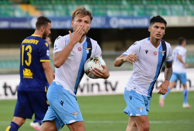 Ciro Immobile Pulls Clear Of CR7 In Golden Boot Race