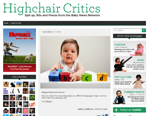 highchair critics