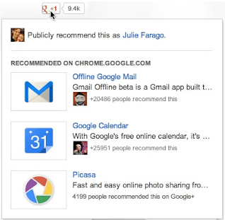 google+ recommendations