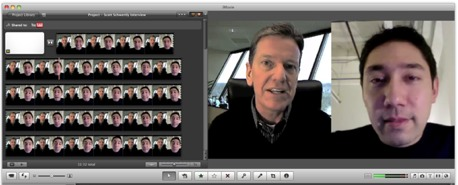 how to record a video interview