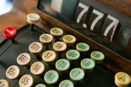stock photo 8129754 cash register