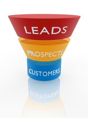 crm funnel chart