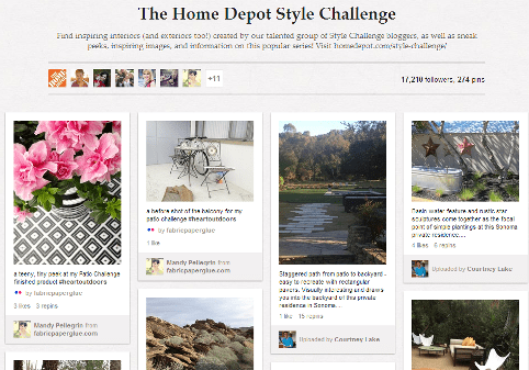 pinterest home depot board