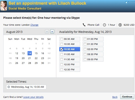 vcita appointment scheduler