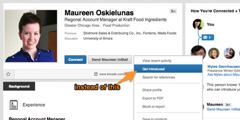 get introduced feature on linkedin