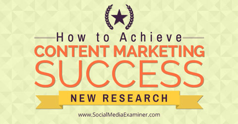 new content marketing research