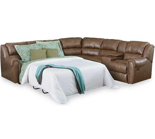 summerlin reclining sleeper sectional