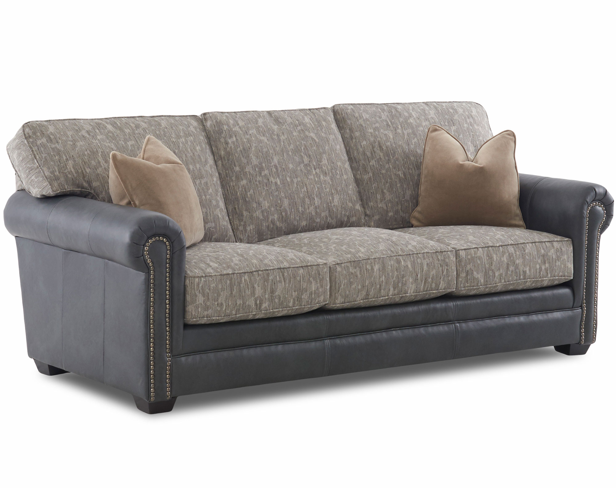 Daniel Leather 90 Queen Sleeper Sofa Sofas And Sectionals