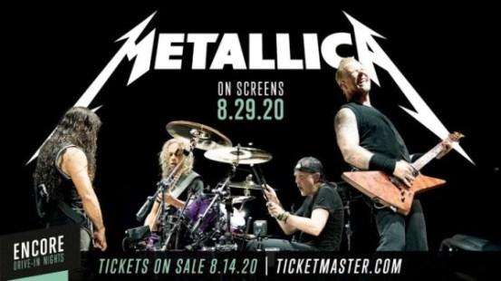 Η Metallica επιστρέφει στη σκηνή, μέσω … drive-in
