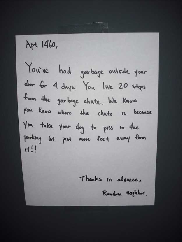 34 Genius Ways To Deal With An Ahole Neighbor
