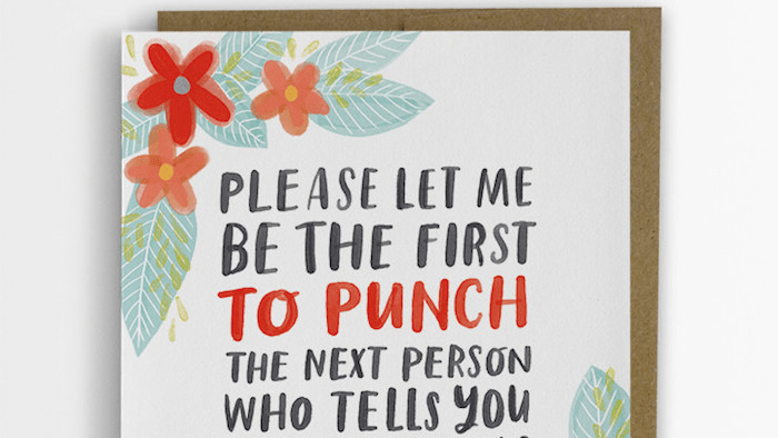 A Woman Made Up Empathy Cards She Wished Shed Received