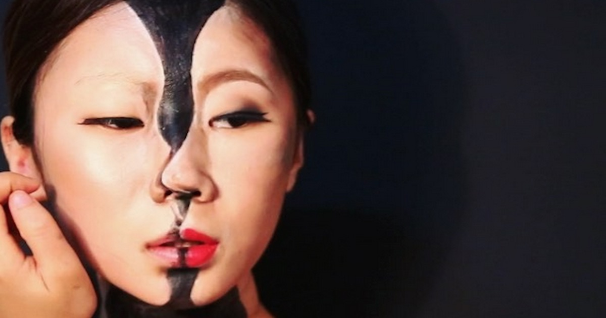 These Makeup Illusions By Korean Artist Dain Yoon Will