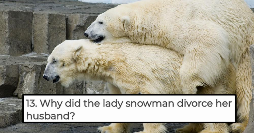 15 Dirty Jokes About Winter To Get You Through Your