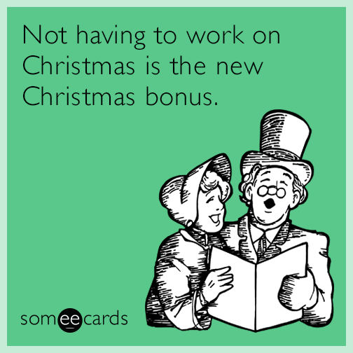 Image result for work at christmas funny