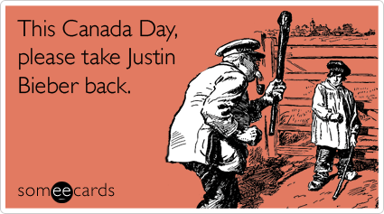 This Canada Day, please take Justin Bieber back