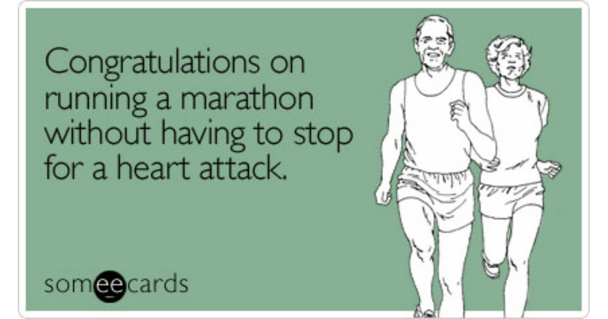 Marathon Run Runner NYC 262 Miles Finish