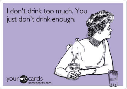 Image result for dont drink too much