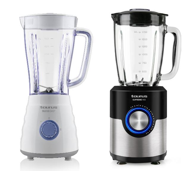 batidoras de vaso, succo easy, supreme Mix, taurus, cremas, batidora, cuchillas de acero, pequeño electrodoméstico, pae