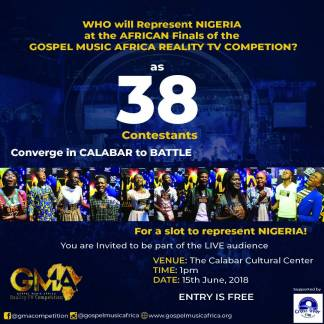 Calabar Nigerian Audition finals of the Gospel Music Africa Reality TV Competition