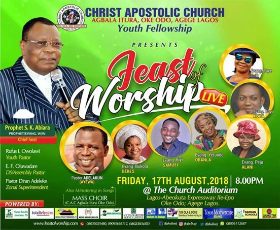 Bukola Bekes, Yetunde Obanla, Biyi Samuel To Headlines Feast Of Worship 2018