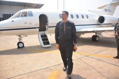 Dr Chris Okafor buys a private jet