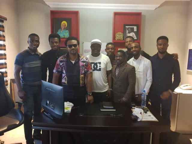 EeZee Conceptz Hosts Gospel Online Media At New Record Label Facility In Lagos