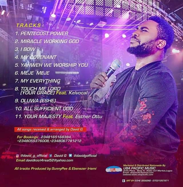 David G - Pentecostal Power (Download Full Album)