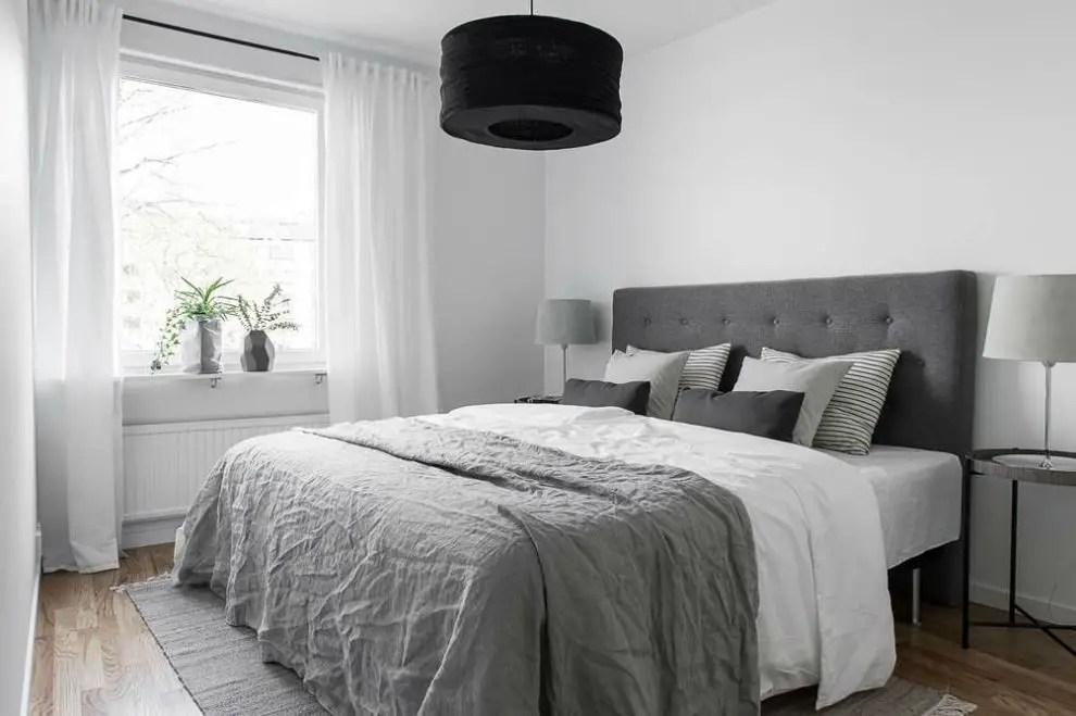 soothing scandinavian bedroom designs