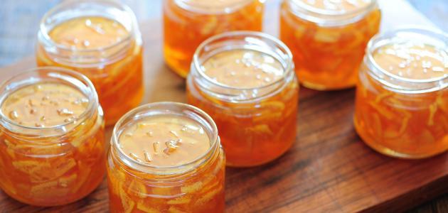 طريقة عمل مربى البرتقال سطور