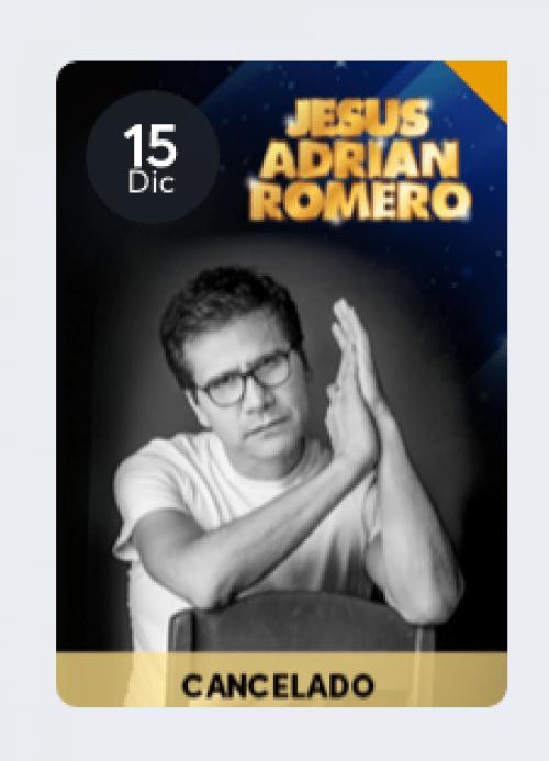 El Show de Jesús Adrián Romero fue cancelado. (Foto: captura de pantalla)
