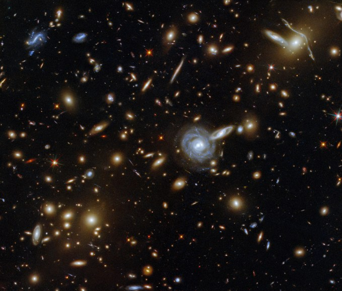 A Menagerie Of Galaxies Esa Hubble