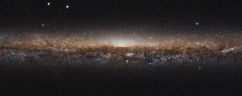 A Galaxy on Edge