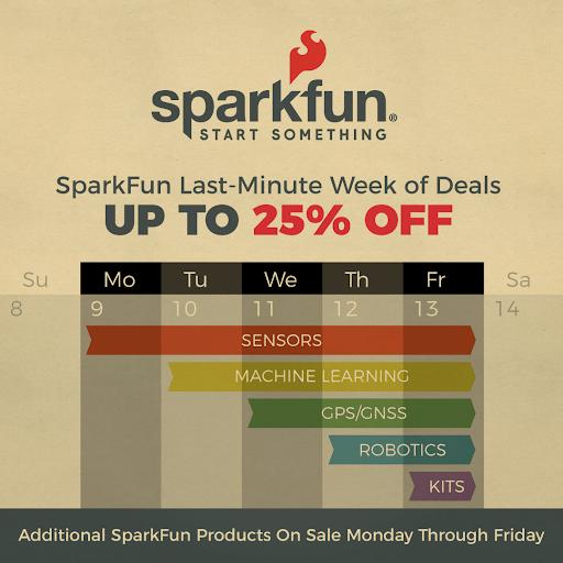 Week of Deals Schedule